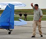 Friends of Harzell Air Show at Piqua/Hartzell Municipal Airport on September 4, 2012.