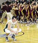 Medina's Matt Ellenbest react as Avon Lake celebrats winning the Midview Division I district final Saturday March 13, 2010. (RON SCHWANE / GAZETTE)