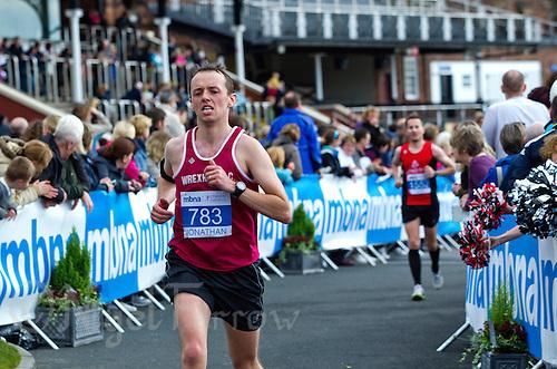 09 SEP 2011 - CHESTER, GBR - Jonathan Davies (Wrexham AC) - MBNA Chester Marathon (PHOTO (C) NIGEL FARROW)