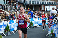 09 SEP 2011 - CHESTER, GBR - Jonathan Davies (Wrexham AC) - MBNA Chester Marathon (PHOTO (C) NIGEL FARROW)