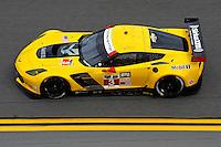 22-25 January, 2015, Daytona Beach, Florida USA<br /> 3, Chevrolet, Corvette C7.R, GTLM, Jan Magnussen, Antonio Garcia, Ryan Briscoe<br /> ©2015, F. Peirce Williams