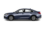 Car driver side profile view of a 2018 Subaru Legacy Premium 4 Door Sedan