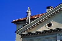 Villa Rotonda erbaut von Andrea Palladio, Vicenza,, Venetien-Friaul, Italien, Unesco-Weltkulturerbe