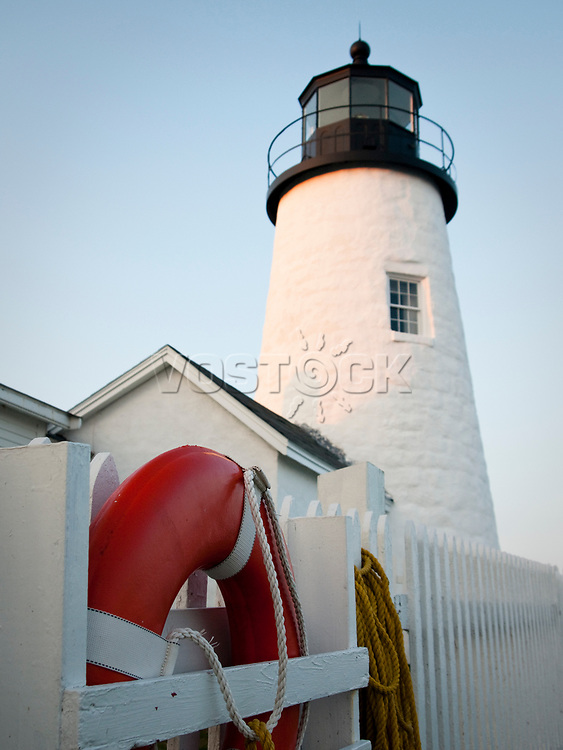 USA, Neuengland, Pernaquid Point Light, Maine, 31.08.2010<br /> <br /> <br /> Engl.: USA, New England, Maine, Pernaquid Point Light, lighthouse, 31 August 2010