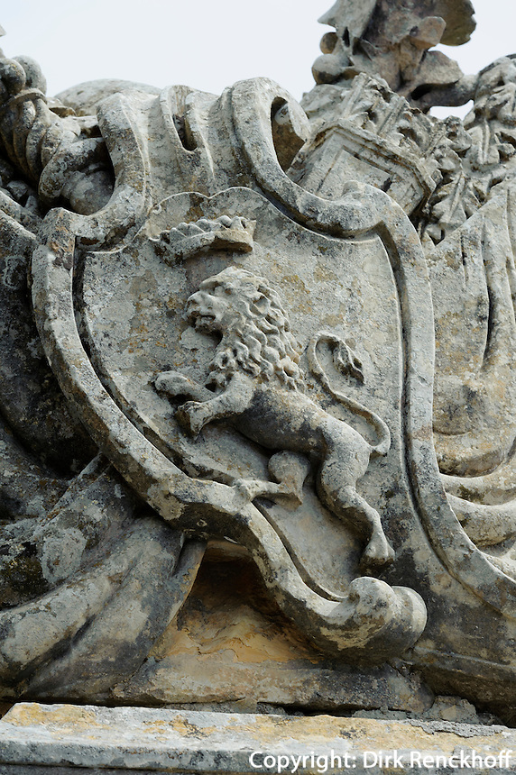 vor dem Stadttor von Mdina, Malta, Europa