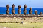 Moai, Ahu Nau Nau