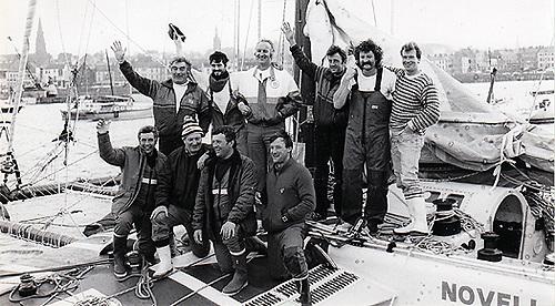 Novanet's crew in Bangor