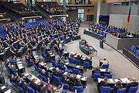 6. Sitzung des Deutschen Bundestag am Mittwoch den 17. Januar 2018.<br /> Im Bild: Die Abgeordneten stimmen ueber die Einsetzung eines Antisemitismus-Beauftragten ab. Unklar ist jedoch, ob der Beauftragte im Kanzleramt oder bei einem Ministerium angesiedelt wird.<br /> 17.1.2018, Berlin<br /> Copyright: Christian-Ditsch.de<br /> [Inhaltsveraendernde Manipulation des Fotos nur nach ausdruecklicher Genehmigung des Fotografen. Vereinbarungen ueber Abtretung von Persoenlichkeitsrechten/Model Release der abgebildeten Person/Personen liegen nicht vor. NO MODEL RELEASE! Nur fuer Redaktionelle Zwecke. Don't publish without copyright Christian-Ditsch.de, Veroeffentlichung nur mit Fotografennennung, sowie gegen Honorar, MwSt. und Beleg. Konto: I N G - D i B a, IBAN DE58500105175400192269, BIC INGDDEFFXXX, Kontakt: post@christian-ditsch.de<br /> Bei der Bearbeitung der Dateiinformationen darf die Urheberkennzeichnung in den EXIF- und  IPTC-Daten nicht entfernt werden, diese sind in digitalen Medien nach §95c UrhG rechtlich geschuetzt. Der Urhebervermerk wird gemaess §13 UrhG verlangt.]