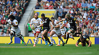 Andy Goode of Wasps of Saracens in action during the Premiership Rugby Round 1 match between Saracens and Wasps at Twickenham Stadium on Saturday 6th September 2014 (Photo by Rob Munro)