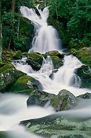 Mouse Creek Falls and Big Creek<br /> Great Smoky Mountains National Park<br /> North Carolina