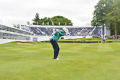 Justin Rose (ENG) during round 2 of the 2015 BMW PGA Championship over the West Course at Wentworth, Virgina Water, London. 22/05/2015<br /> Picture Fran Caffrey, www.golffile.ie: