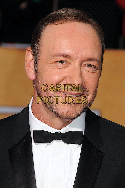 18 January 2014 - Los Angeles, California - Kevin Spacey. 20th Annual Screen Actors Guild Awards - Arrivals held at The Shrine Auditorium. Photo Credit: Byron Purvis/AdMedia<br /> CAP/ADM/BP<br /> ©Byron Purvis/AdMedia/Capital Pictures