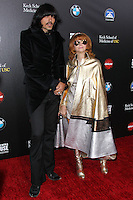 HOLLYWOOD, LOS ANGELES, CA, USA - MARCH 20: J.D. King, Linda Ramone at the 2nd Annual Rebels With A Cause Gala Honoring Larry Ellison held at Paramount Studios on March 20, 2014 in Hollywood, Los Angeles, California, United States. (Photo by Xavier Collin/Celebrity Monitor)