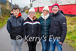 Ready for a stroll on the Slim Mile Greenway in Tralee on Sunday, l to r: Matthew Riordan, Lily Pozzi, Irene and Kevin Riordan