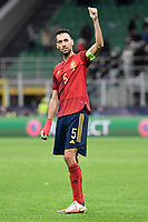 Sergio Busquets of Spain during the Uefa Nations League semi-final football match between Italy and Spain at San Siro stadium in Milano (Italy), October 6th, 2021. Photo Andrea Staccioli / Insidefoto