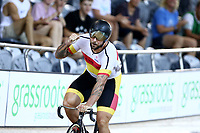 Eddie Dawkins finishes first in the Men Elite Keirin during the 2020 Vantage Elite and U19 Track Cycling National Championships at the Avantidrome in Cambridge, New Zealand on Saturday, 25 January 2020. ( Mandatory Photo Credit: Dianne Manson )