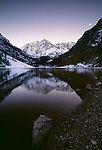 Maroon Bells,  White River National Forest, Colorado, USA