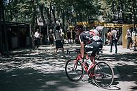 Nicolas Roche (IRE/BMC) before the start<br /> <br /> 104th Tour de France 2017<br /> Stage 14 - Blagnac › Rodez (181km)