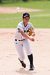 #3 Ono Ayumi of Japan in action during the BFA Women's Baseball Asian Cup match between Japan and India at Sai Tso Wan Recreation Ground on September 6, 2017 in Hong Kong. Photo by Marcio Rodrigo Machado / Power Sport Images