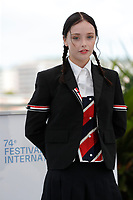 CANNES, FRANCE - JULY 15, 2021: Suzanna Son at photocall  for 'Red Rocket' during the 74th Cannes Film Festival held at the Palais des Festivals in Cannes, France.CAP/GOL<br /> ©GOL/Capital Pictures