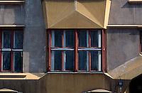 Tschechien, Prag, kubistisches Haus in der Krasnohorske Ul., Unesco-Weltkulturerbe