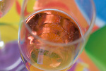 Sparking wine waits visitors at St. Helena party