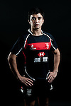 Keith Robertson poses during the Hong Kong 7's Squads Portraits on 5 March 2012 at the King's Park Sport Ground in Hong Kong. Photo by Andy Jones / The Power of Sport Images for HKRFU