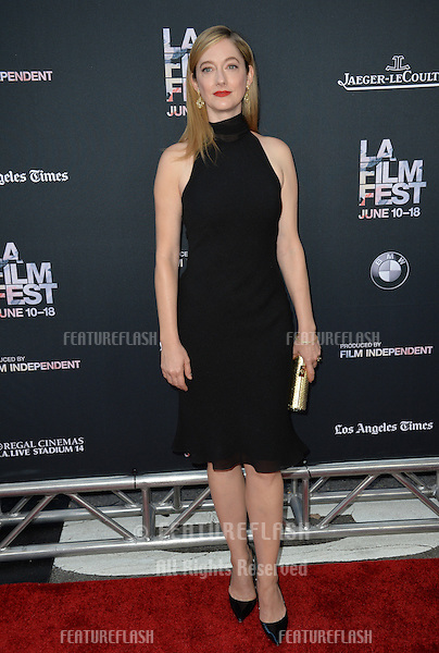 """Judy Greer at the premiere of her movie """"Grandma"""", the opening movie of the Los Angeles Film Festival, at the Regal Cinema LA Live.<br /> June 11, 2015  Los Angeles, CA<br /> Picture: Paul Smith / Featureflash"""