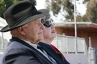 Former players, coaches, rivals and classmates attended a Memorial service held for Coach Bennie Eden at the Point Loma High School Football stadium that was recently renamed in his honor, Saturday February 23 2008.
