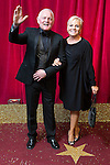 © Licensed to London News Pictures . 16/05/2015 .  The Palace Hotel , Manchester , UK . Chris Chittell and Lesley Dunlop . The red carpet at the 2015 British Soap Awards , The Palace Hotel , Oxford Road , Manchester . Photo credit : Joel Goodman/LNP