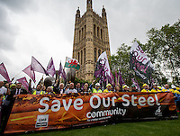 25.05.2016 - Save Our Steel - Demonstration Outside The Houses of Parliament