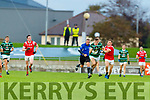 Diarmuid O'Connor, St. Brendan's Board in action against Dara Moynihan, East Kerry during the Kerry County Senior Football Championship Semi-Final match between East Kerry and St Brendan's at Austin Stack Park in Tralee, Kerry.