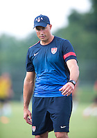 Kasey Keller. The USMNT held practice at UMBC in Baltimore, MD in preparation for the quarterfinals of the CONCACAF Gold Cup.
