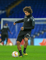 Amr Warda of PAOK during training and press conference at Stamford Bridge, London