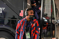 KANSAS CITY, KS - JULY 15: The United States arriving at the stadium before a game between Martinique and USMNT at Children's Mercy Park on July 15, 2021 in Kansas City, Kansas.