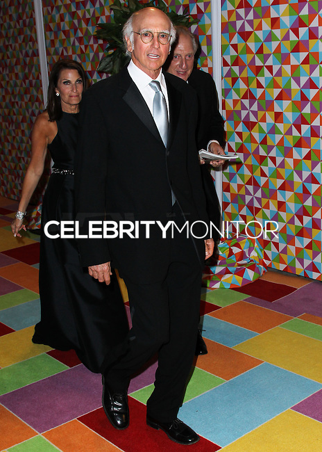 WEST HOLLYWOOD, CA, USA - AUGUST 25: Larry David at HBO's 66th Annual Primetime Emmy Awards After Party held at the Pacific Design Center on August 25, 2014 in West Hollywood, California, United States. (Photo by Xavier Collin/Celebrity Monitor)