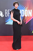 """**North America Only***<br /> <br /> Jessie Buckley attends """"The Lost Daughter"""" UK Premiere at The Royal Festival Hall during the 65th BFI London Film Festival in London.<br /> <br /> OCTOBER 13th 2021<br /> <br /> Credit: Matrix / MediaPunch"""