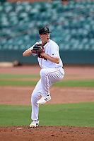 Jupiter Hammerheads pitcher M.D. Johnson (39) during a game against the Jupiter Hammerheads on May 12, 2021 at Roger Dean Chevrolet Stadium in Jupiter, Florida.  (Mike Janes/Four Seam Images)