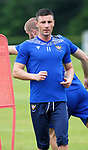 St Johnstone Training...02.07.21<br />Michael O'Halloran pictured during training<br />Picture by Graeme Hart.<br />Copyright Perthshire Picture Agency<br />Tel: 01738 623350  Mobile: 07990 594431