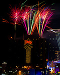 The Plaza Hotel Casino brings in 2021 with the only official fireworks during the restrictions of the pandemic