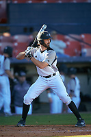Wisconsin-Milwaukee Panthers left fielder Cole Heili (30) at bat during a game against the Bethune-Cookman Wildcats on February 26, 2016 at Chain of Lakes Stadium in Winter Haven, Florida.  Wisconsin-Milwaukee defeated Bethune-Cookman 11-0.  (Mike Janes/Four Seam Images)