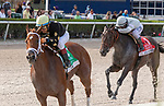 July 3, 2021:   #5 Ce Ce with jockey Victor Espinoza on board, wins the 2021 Princess Rooney Invitational G2 Stakes, at Gulfstream Park in Hallandale Beach, Florida. LizLamont/Eclipse Sportswire/CSM