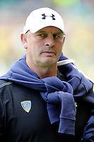 Vern Cotter, ASM Clermont Auvergne Head Coach, before the Heineken Cup semi-final match between Saracens and ASM Clermont Auvergne at Twickenham Stadium on Saturday 26th April 2014 (Photo by Rob Munro)