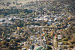 San Andreas, California from the air.