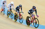 Leung Bo Yee of the Ligne 8- CSR competes in Women Elite - Scratch 7.5KM Final during the Hong Kong Track Cycling National Championship 2017 on 25 March 2017 at Hong Kong Velodrome, in Hong Kong, China. Photo by Chris Wong / Power Sport Images