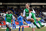 St Johnstone v Hibs....05.03.11 .David Wotherspoon celebrates his goal with Darryl Duffy.Picture by Graeme Hart..Copyright Perthshire Picture Agency.Tel: 01738 623350  Mobile: 07990 594431