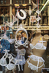 Royal Wedding of Prince Charles and Lady Diana Spencer, souvenir  and window display  July 29th London Uk 1981