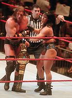 Triple H Chyna  Shane McMahon 1999                                                            Photo by  John Barrett/PHOTOlink