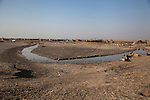 16/12/2015-Chbaish,Iraq-A view of the dry hammer's marsh. The dry ground used to be a vital marsh, stretching out for hundreds of square kilometers.