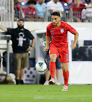 NASHVILLE, TENN - JULY 03: Cristian Roldan #15 during a 2019 CONCACAF Gold Cup Semifinal match between the United States and Jamaica at Nissan Stadium on July 03, 2019 in Nashville, Tennessee.